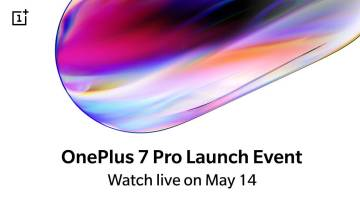 OnePlus 7 launch event live stream