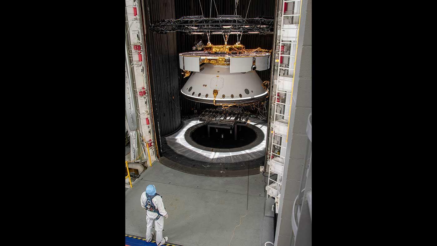 mars 2020 spacecraft