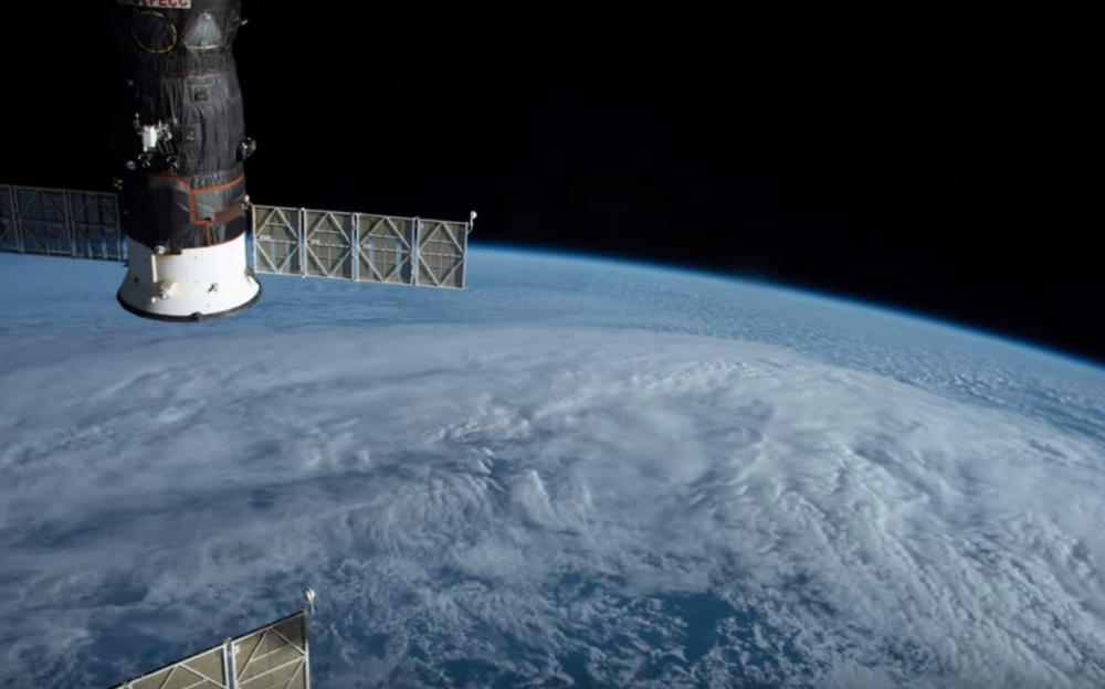 iss timelapse video