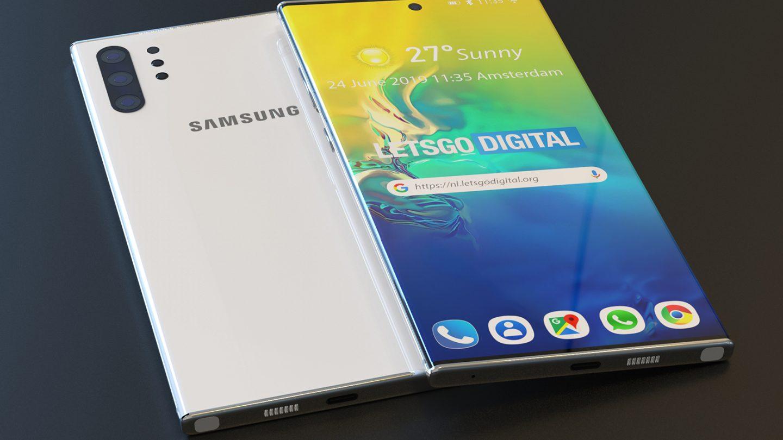 Galaxy Note 10 vs. Mate 30 Pro
