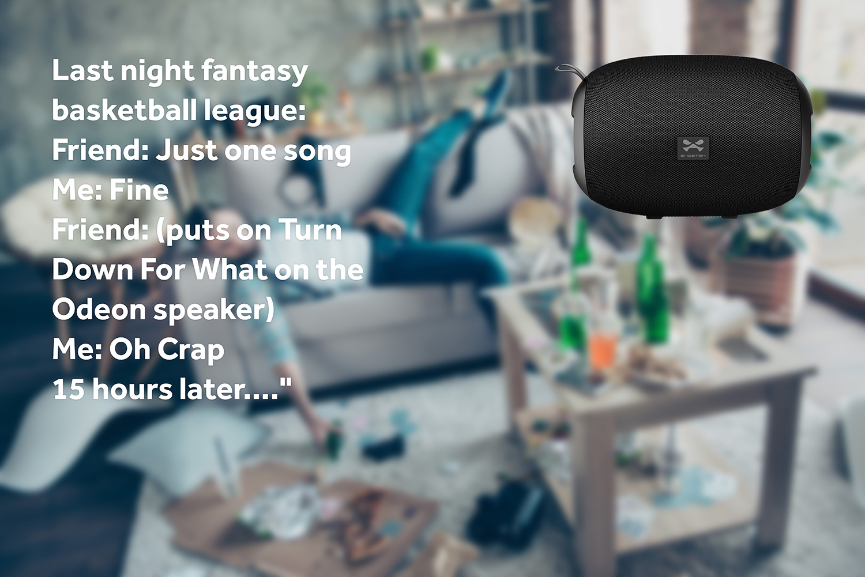 Ghostek Odeon Wireless Portable Bluetooth Speaker
