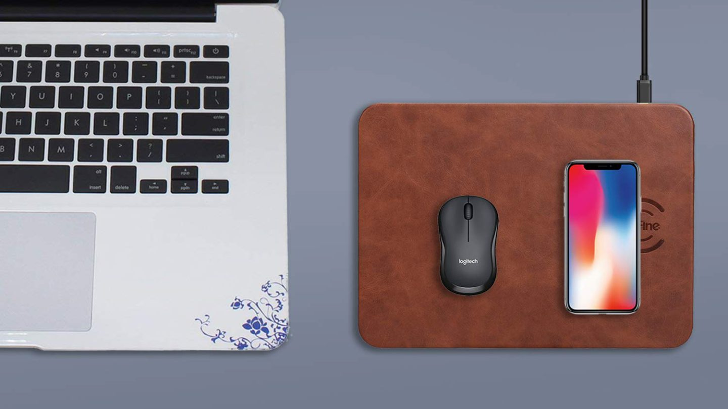 Mouse Pad With Built-In Wireless Charger