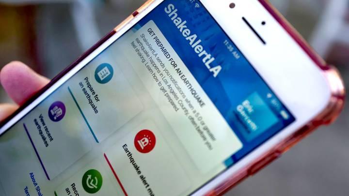 earthquake app