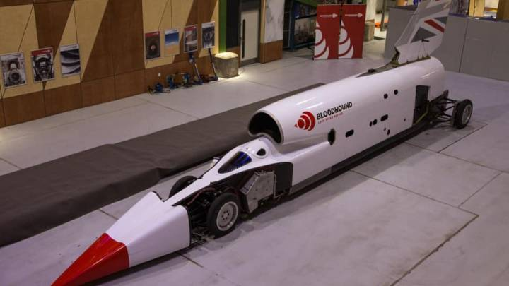 Supersonic car