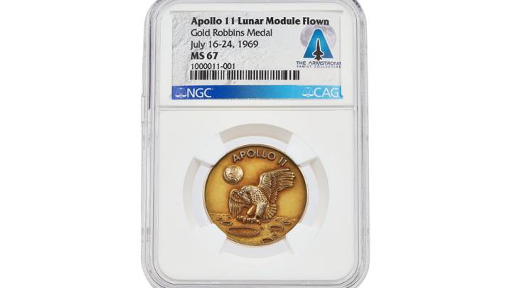 neil armstrong medal