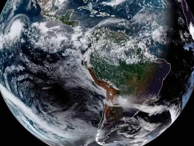 eclipse satellite view