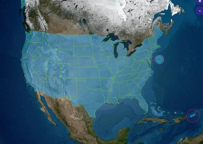 nasa interactive map