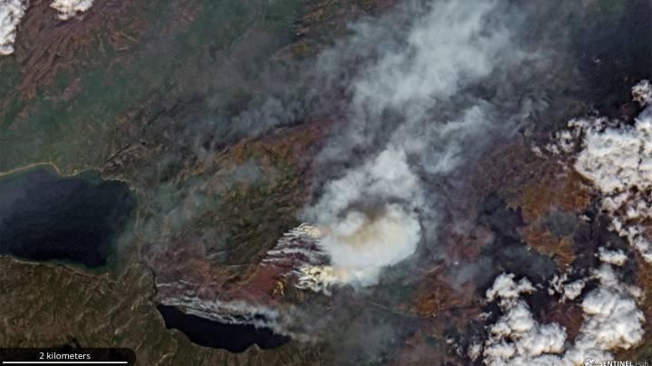 arctic wildfires