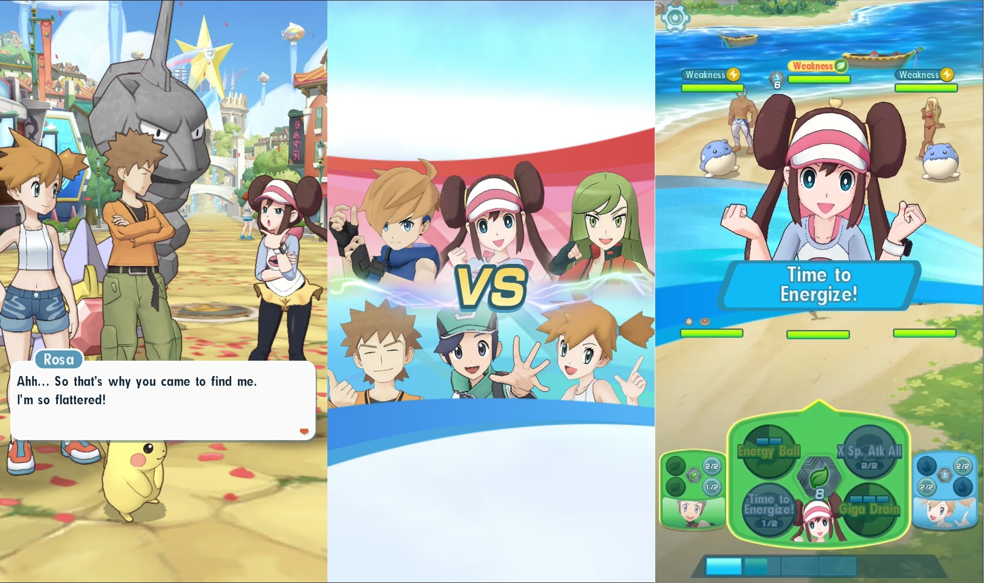 Pokemon Masters' gameplay trailer gives us our best look yet at real-time  battles – BGR