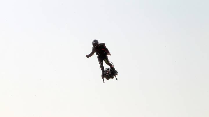 Hoverboard English Channel crossing