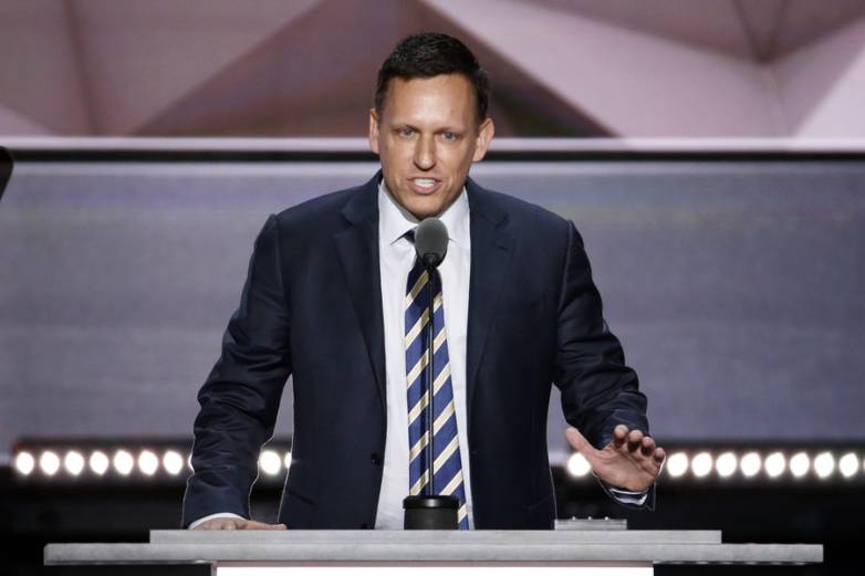 Peter Thiel vs Google
