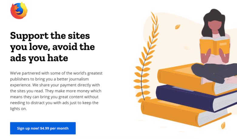 Mozilla subscription