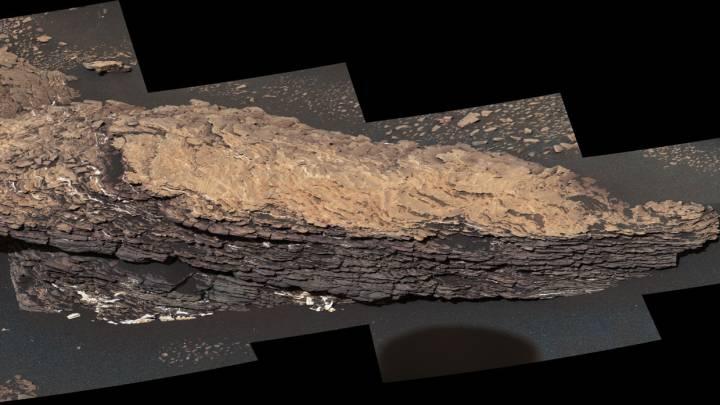 mars water rock