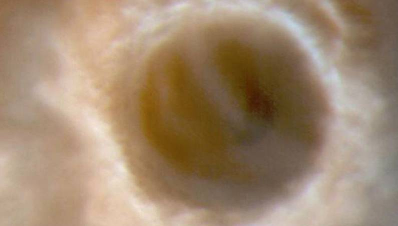 mars crater tsunami