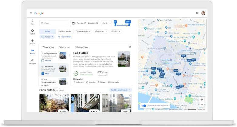Google Flights new features