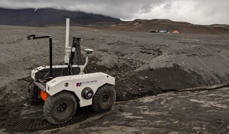iceland mars rover