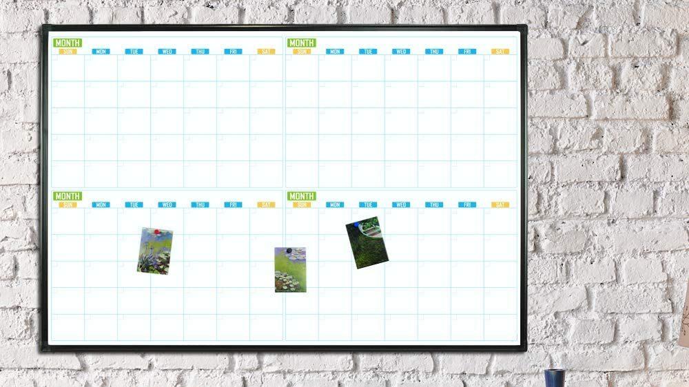 Best Dry Erase Calendar
