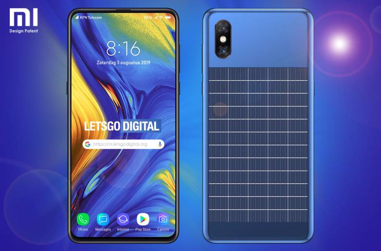 New smartphone design