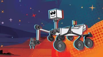 mars rover name