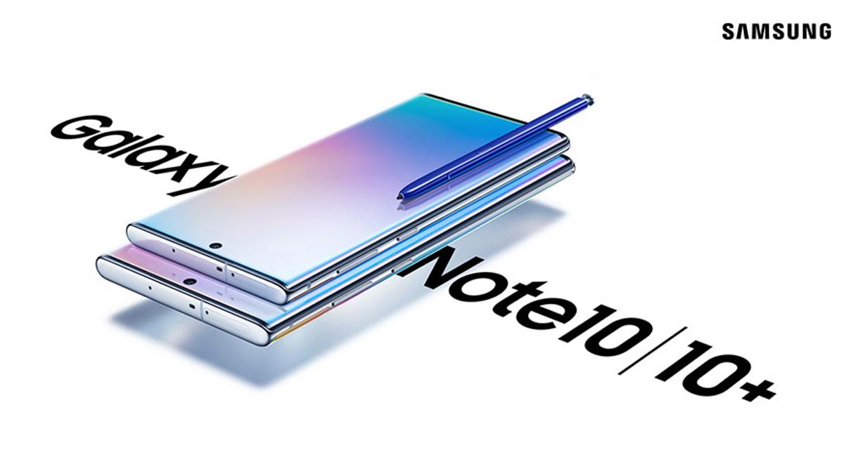 Galaxy Note 10 leak