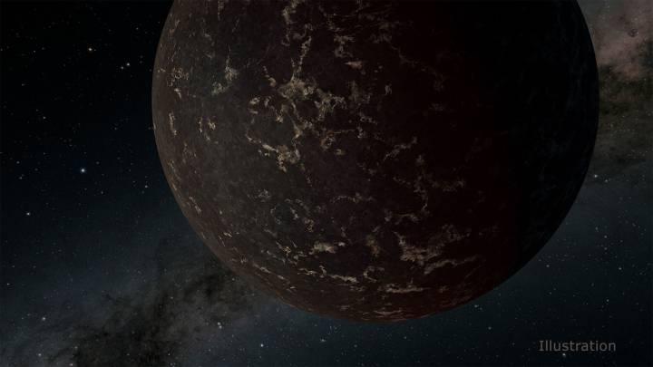 exoplanet surface