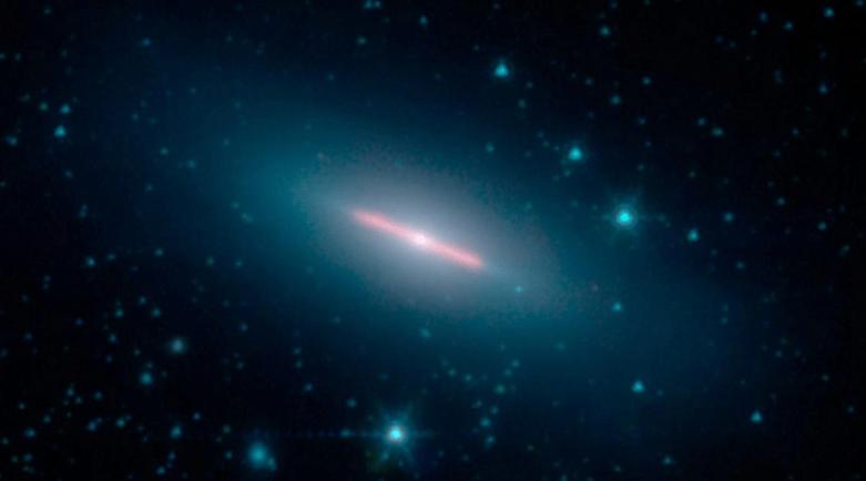 nasa spitzer galaxy