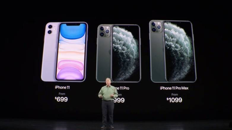 iPhone 11 Price vs. Pro Max