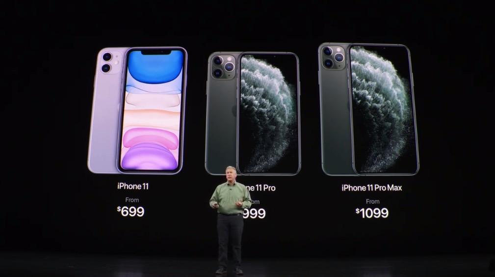 iPhone 11 Price vs. Pro Max