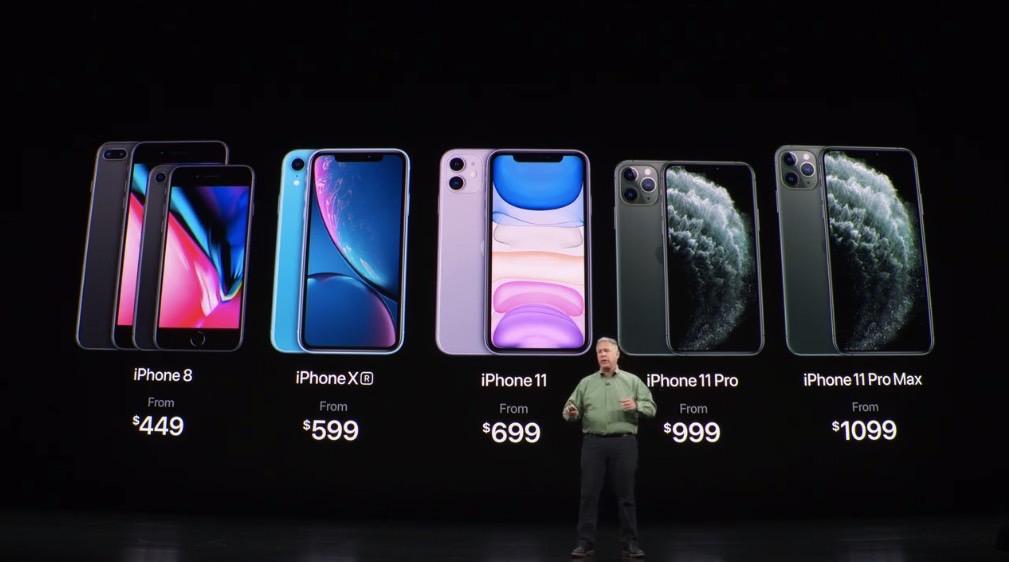 iPhone 11 Pro Max vs. iPhone 11 vs. iPhone XR