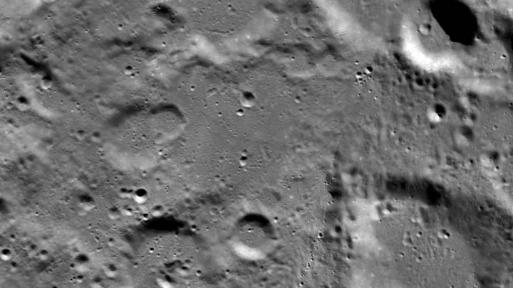 crashed moon lander