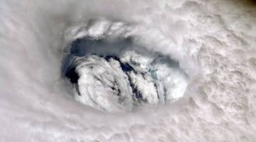 hurricane dorian iss