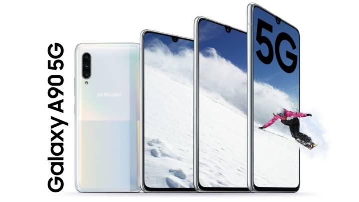 Galaxy A90 5G vs. Galaxy Note 10