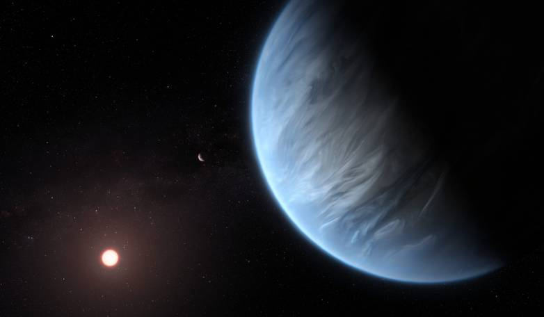exoplanet water