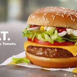 McDonald's Beyond Meat burger