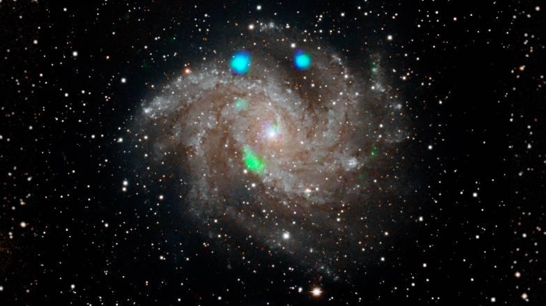 space x-ray blast