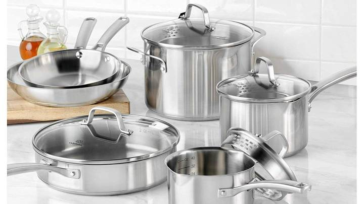Best Stainless Steel Set of Pots and Pans