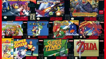 SNES games Nintendo Switch Online