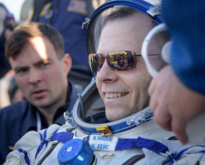 iss astronauts