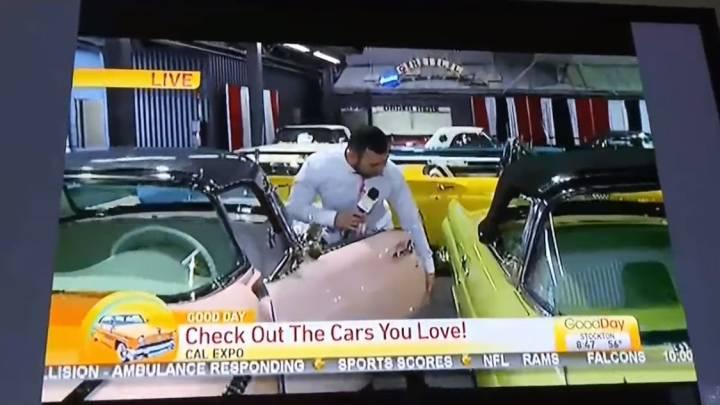 auto show reporter