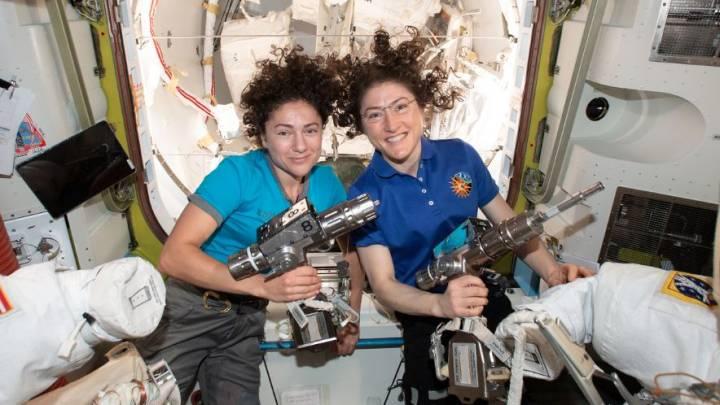 all female spacewalk