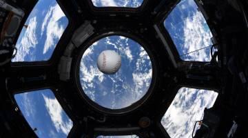 space station baseball
