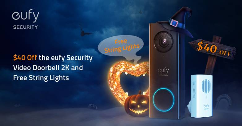 Save big on this top-rated Eufy security video doorbell with this coupon