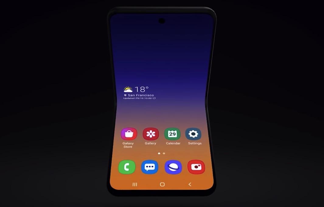 Galaxy Fold 2 Design