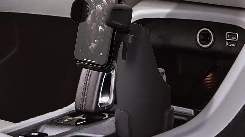 Meilleur support de téléphone pour voiture avec porte-gobelet