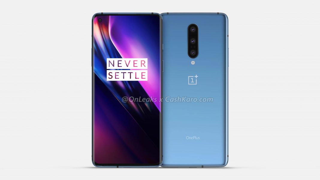OnePlus 8 design leaks before the OnePlus 7T is even released