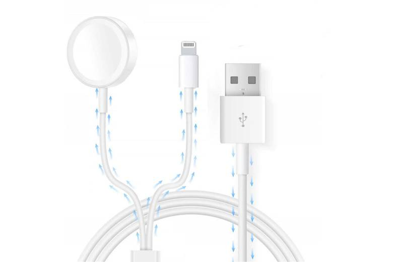 iPhone And Apple Watch Charging Cable