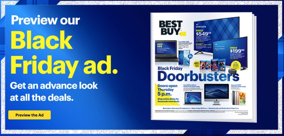Black Friday Ads 2019 Amazon Best Buy Walmart Target And Every Other Major Retailer Bgr