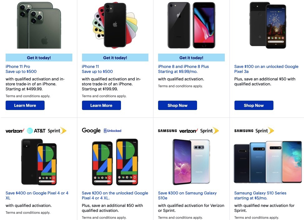 Best Buy S Black Friday 2019 Deals Are Official Iphone 11 Pixel 4 Note 10 And Lots Of Other Sales Bgr
