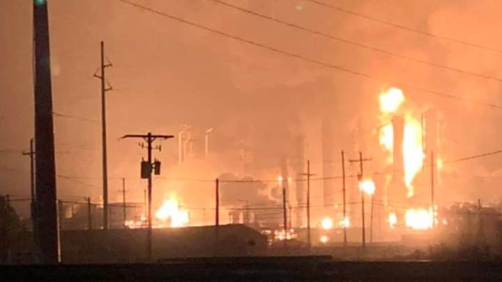 chemical plant explosion