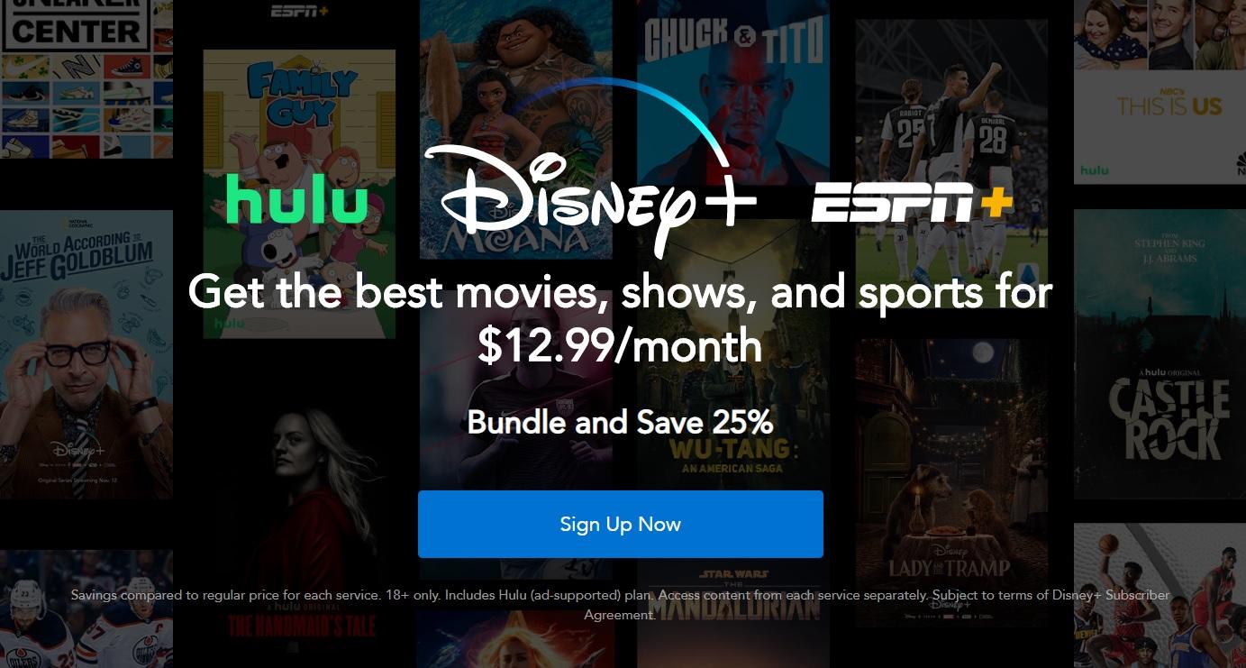 Disney+ bundle